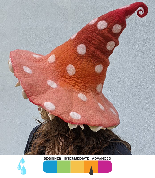 Whimsical Mushroom Hat
