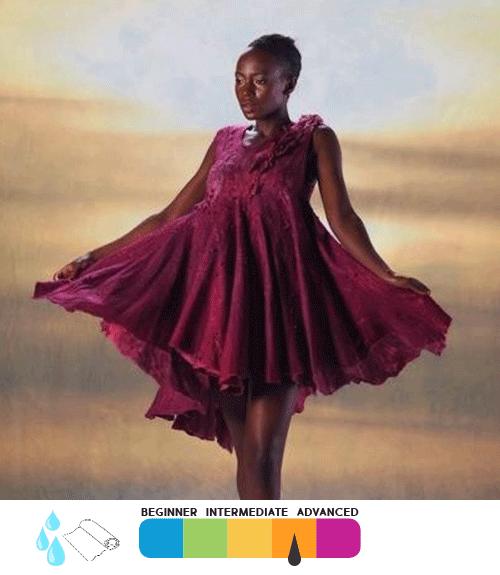 Nuno Felt Wearables: Custom Dye, Design & Felt Your Own Top and Dress