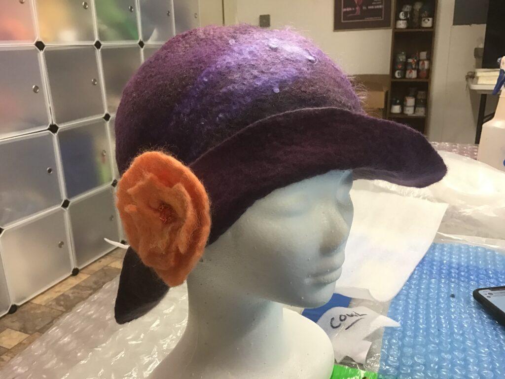 JoAnn Stratakos Felted Hat