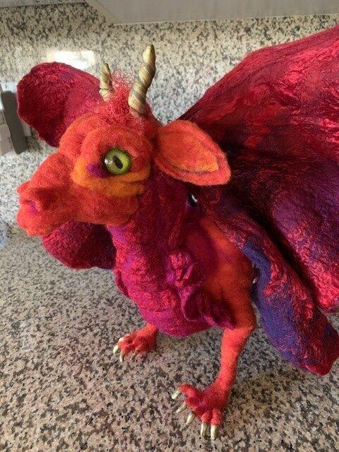 Virginia Hayward Dragon